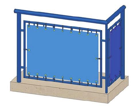 Balkon Sichtschutz Balkonverkleidung Balkon Sichtschutz