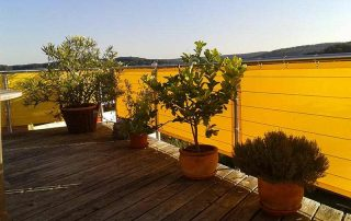 Sichrschutz Balkon aus Soltis92
