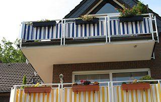 Balkonbespannungen