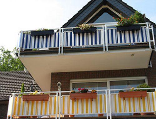 Sichtschutz-Balkon – Mit Kindern am Balkon