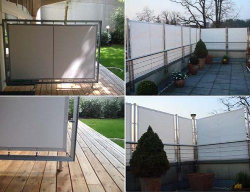 Balkonverkleidung – Balkonsichtschutz für Privatsphäre